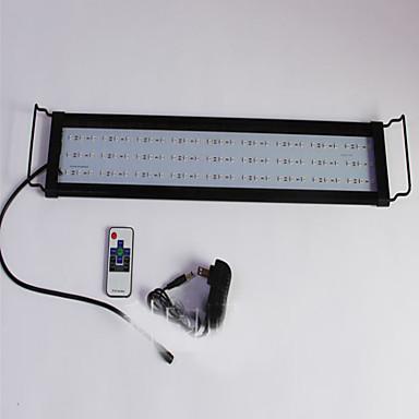 Akvaariot Akvaario Sisustus LED-valo Muutos Myrkytön ja mauton LED-lamppu 220VVMetalli