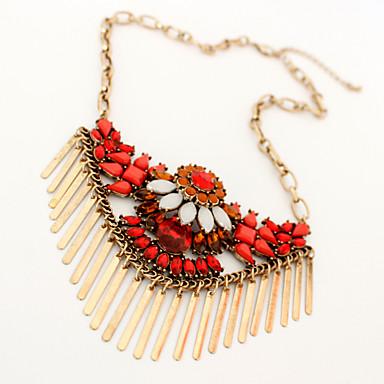 Dame Coliere cu Pandativ Bijuterii Bijuterii Piatră Preţioasă AliajDesign Unic Stilul Folk Franjuri La modă Personalizat Euramerican