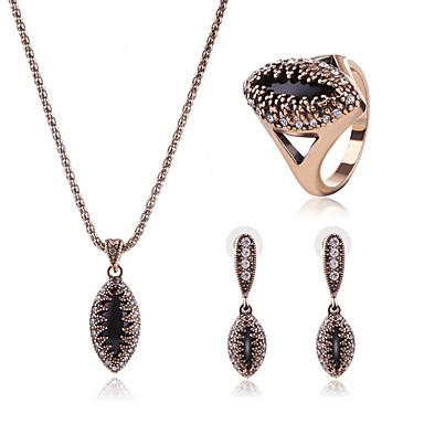 Pentru femei Seturi de bijuterii Diamant sintetic Γεωμετρικά Design Unic Stil Atârnat Bijuterii inițială Incrucisarea Punk Ocazie specială