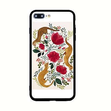 Etui Käyttötarkoitus Apple Kuvio Takakuori Piirretty Kova Akryyli varten iPhone 7 Plus iPhone 7 iPhone 6s Plus iPhone 6 Plus iPhone 6s