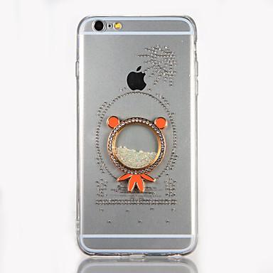 إلى حجر كريم اصنع بنفسك غطاء غطاء خلفي غطاء كرتون قاسي أكريليك إلى Apple فون 7 زائد فون 7 iPhone 6s Plus iPhone 6 Plus iPhone 6s أيفون 6