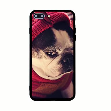 Kılıflar Kapaklar Apple için Arka Kılıf Temalı Köpek Sert Akrilik iPhone 7 Plus iPhone 7 iPhone 6s Plus iPhone 6 Plus iPhone 6s iPhone 6
