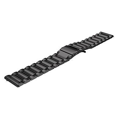 22mm trzy koralik zespół ze stali nierdzewnej do Samsung s3 granicy / classic inteligentnego zegarka