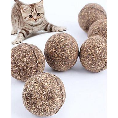 Zabawki z kocimiętką Zabawki dla kotów typu teaser Trwały Drewniany Na Kot Kotek