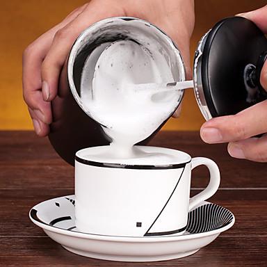 # ml Ανοξείδωτο Ατσάλι γάλα Αναδευτήρα , Drip Καφές Κατασκευαστής Επαναχρησιμοποιήσιμο
