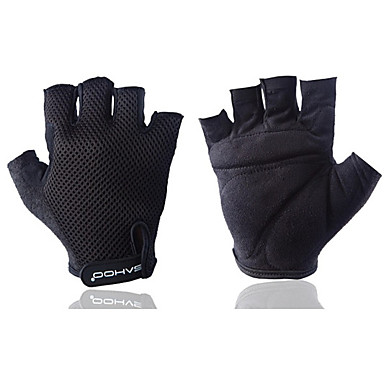 Activități/ Mănuși de sport Unisex Mănuși pentru ciclism Toamnă Primăvară Vară Mănuși Motor Respirabil Tactic Fără Degete Nailon Mănuși