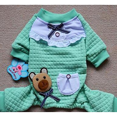 Köpek Paltolar Köpek Giyimi Sevimli Tek Renk Mor Yeşil Pembe