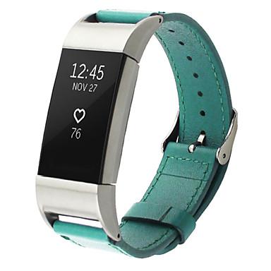 Παρακολουθήστε Band για Fitbit Charge 2 Fitbit Δερμάτινη Πλέξη Μέταλλο Δέρμα Λουράκι Καρπού