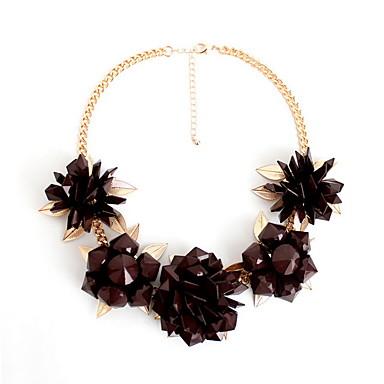 Kadın Açıklama Kolye Tellerinin Kolye Mücevher Mücevher Değerli Taş alaşımModa Kişiselleştirilmiş Euramerican İfade Takıları Avrupa
