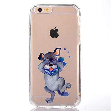 Kılıf Na iPhone 7 Plus iPhone 7 iPhone 6s Plus iPhone 6 Plus iPhone 6s iPhone 6 iPhone 5 iPhone 5C Apple Przezroczyste Wzór Czarne etui