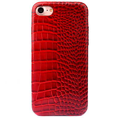 Için Temalı Pouzdro Arka Kılıf Pouzdro Solid Renkli Sert PU Deri için AppleiPhone 7 Plus iPhone 7 iPhone 6s Plus iPhone 6 Plus iPhone 6s