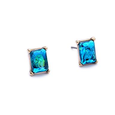 Pentru femei Cercei Stud Cristal Geometric La modă Personalizat Euramerican Bijuterii Pentru Nuntă Petrecere Zi de Naștere