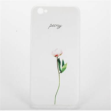 Na Wzór Kılıf Etui na tył Kılıf Kwiat Miękkie TPU na Apple iPhone 7 Plus iPhone 7 iPhone 6s Plus iPhone 6 Plus iPhone 6s iphone 6