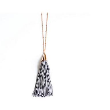 Pentru femei Coliere cu Pandativ Bijuterii stil minimalist La modă Euramerican Negru Gri Bijuterii Pentru Zilnic 1 buc