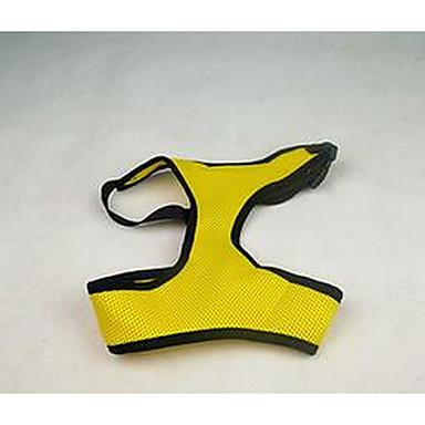 Köpek Vesta Köpek Giyimi Sevimli Günlük/Sade Tek Renk Koyu Mavi Sarı Kırmzı Pembe Kostüm Evcil hayvanlar için