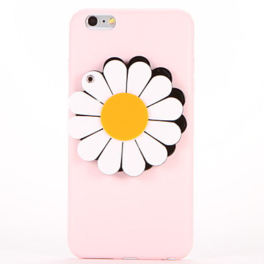 Kılıf Na Apple iPhone 7 Plus iPhone 7 Lustro DIY Czarne etui Kwiaty Miękkie TPU na iPhone 7 Plus iPhone 7 iPhone 6s Plus iPhone 6s iPhone