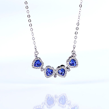 Γυναικεία Κρεμαστά Κολιέ Κρυστάλλινο Εξατομικευόμενο Love Καρδιά Euramerican Κοσμήματα Για Γάμου Πάρτι