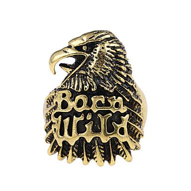 Αετός Band Ring - Ζώο Μοναδικό / Λογότυπο / Τατουάζ Μπρονζέ Δαχτυλίδι Για Πάρτι / Ειδική Περίσταση / Halloween