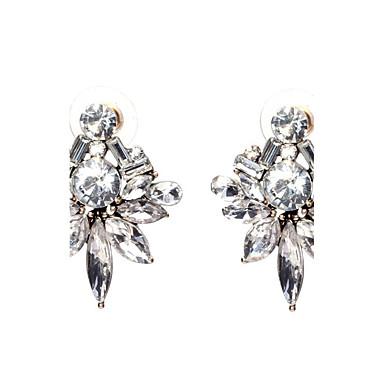 Kadın's Vidali Küpeler Kristal Eşsiz Tasarım Moda Kişiselleştirilmiş Euramerican Mücevher Uyumluluk Düğün Parti Doğumgünü