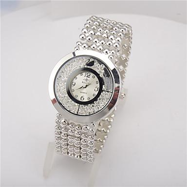 Damskie Do sukni/garnituru Modny Zegarek na naszyjniku Kryształowy zegarek Chiński Kwarcowy Stop Pasmo Na co dzień Srebro Złoty Różowe