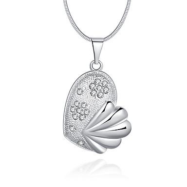 Dame Animal Lux Design Unic Stil Logo Stil Atârnat Coliere cu Pandativ Cristal Plastic Cristal Diamante Artificiale Coliere cu Pandativ .