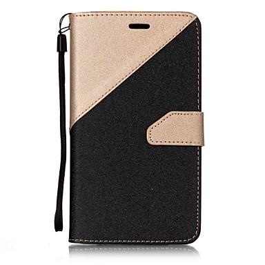 غطاء من أجل Asus حامل البطاقات محفظة مع حامل قلب مغناطيس غطاء كامل للجسم سادة قاسي جلد PU إلى Asus Zenfone 3 ZE520KL(5.2) Asus ZenFone 3