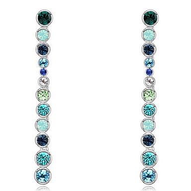 Γυναικεία Κρυστάλλινο Εξατομικευόμενο Κυκλικό Euramerican Μοντέρνα Κοσμήματα Για Γάμου Πάρτι Γενέθλια