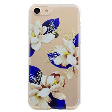 Kılıf Na Apple Przezroczyste Wzór Etui na tył Kwiaty Miękkie TPU na iPhone 7 Plus iPhone 7 iPhone 6s Plus iPhone 6 Plus iPhone 6s iphone