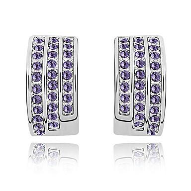 Γυναικεία Κουμπωτά Σκουλαρίκια Κρυστάλλινο Εξατομικευόμενο Μοντέρνα Euramerican Κοσμήματα Γάμου Πάρτι Γενέθλια