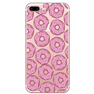 Για Διαφανής Με σχέδια tok Πίσω Κάλυμμα tok Φαγητό Μαλακή TPU για AppleiPhone 7 Plus iPhone 7 iPhone 6s Plus iPhone 6 Plus iPhone 6s