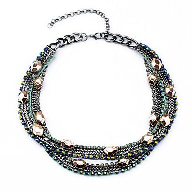 Γυναικεία Σκέλη Κολιέ Round Shape Μοναδικό Μοντέρνα Κοσμήματα Για Γάμου