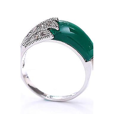 Γυναικεία Δαχτυλίδι Μοντέρνα Πεπαλαιωμένο Εξατομικευόμενο Euramerican μινιμαλιστικό στυλ Ρητίνη Στρας Κοσμήματα Κοσμήματα Για Γενέθλια
