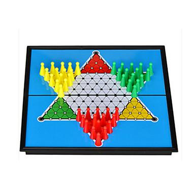 Masa Oyunları Satranç Oyunu Satranç Halma Oyuncaklar Manyetik Dairesel Ördek Plastik Parçalar Hediye