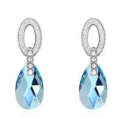 Damskie Kryształ Spersonalizowane Okragły Modny euroamerykańskiej Biżuteria Ślub Impreza Urodziny