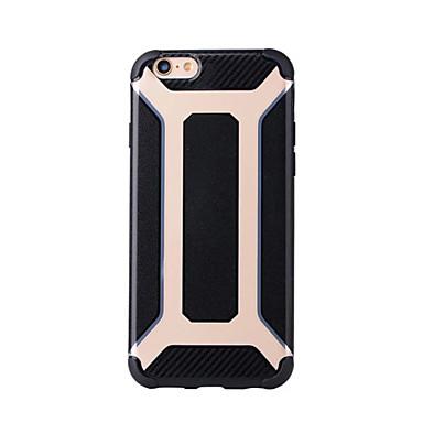 Varten Iskunkestävä IMD Etui Takakuori Etui Panssari Pehmeä Silikoni varten AppleiPhone 7 Plus iPhone 7 iPhone 6s Plus iPhone 6 Plus