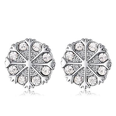 Γυναικεία Κουμπωτά Σκουλαρίκια Κρυστάλλινο Μοντέρνα Κρύσταλλο Επιχρυσωμένο Κοσμήματα Πάρτι Καθημερινά Causal