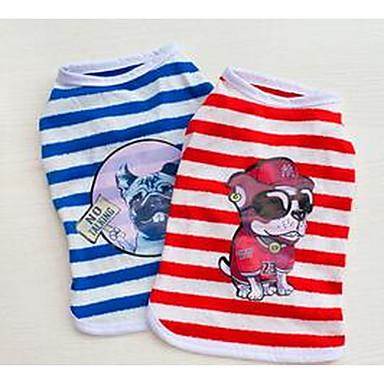 Pies T-shirt Ubrania dla psów Urocza Księżniczka Niebieski Różowy