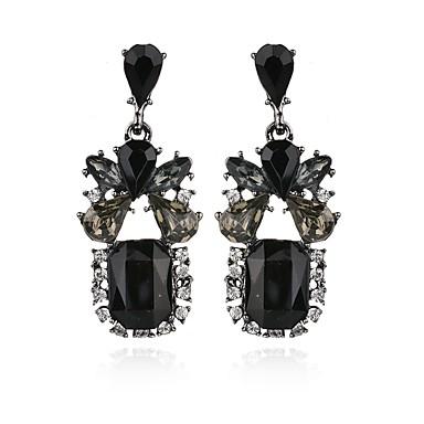 Damskie Kolczyki wiszące Kryształ Geometrické Kryształ Stop Geometric Shape Biżuteria Impreza Codzienny Casual Biżuteria kostiumowa