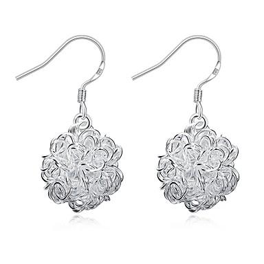 Damskie Kolczyki wiszące Biżuteria Podstawowy Posrebrzany Inne Biżuteria Silver Ślub Impreza Codzienny Casual Biżuteria kostiumowa