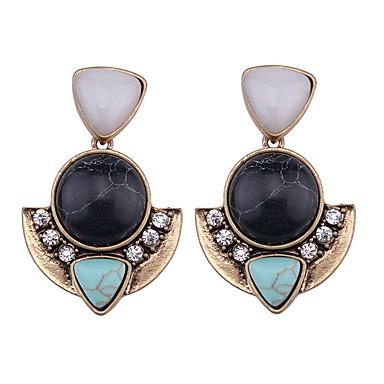 Damskie Kolczyki koła Biżuteria Modny Bohemia Style euroamerykańskiej Turkusowy Biżuteria Biżuteria Na Ślub Impreza Specjalne okazje