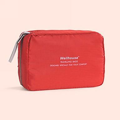 Organizator Bagaj de Călătorie Geantă Cosmetice Portabil Pliabil Depozitare Călătorie Articole Toaletă pentru Haine Nailon / Exterior
