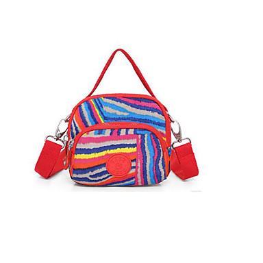 20L以下 L Τσάντα ώμου Αδιάβροχη Αδιάβροχο Φοριέται Μαύρο Ρουμπίνι Ανθισμένο Ροζ Λεοπαρδαλί Ασημί/Γκρίζο