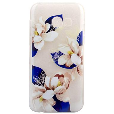 tok Για Samsung Galaxy A5(2017) A3(2017) Διαφανής Με σχέδια Πίσω Κάλυμμα Λουλούδι Μαλακή TPU για A3 (2017) A5 (2017)