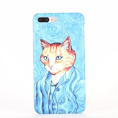 Pentru Model Maska Carcasă Spate Maska Pisica Greu PC pentru Apple iPhone 7 Plus iPhone 7 iPhone 6s Plus iPhone 6 Plus iPhone 6s iphone 6