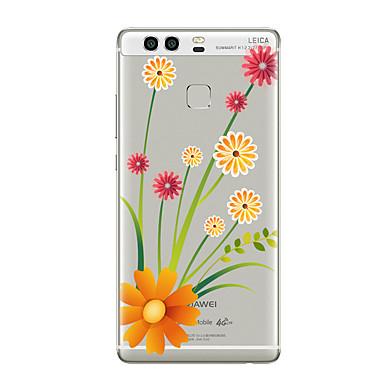 إلى شفاف نموذج غطاء غطاء خلفي غطاء زهور ناعم TPU إلى HuaweiHuawei P10 Plus Huawei P10 Lite Huawei P10 هواوي P9 Huawei P9 Lite Huawei P9