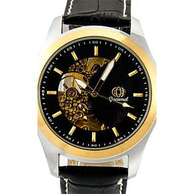 Bărbați Quartz Ceas de Mână cald Vânzare Piele Bandă Casual Modă Negru