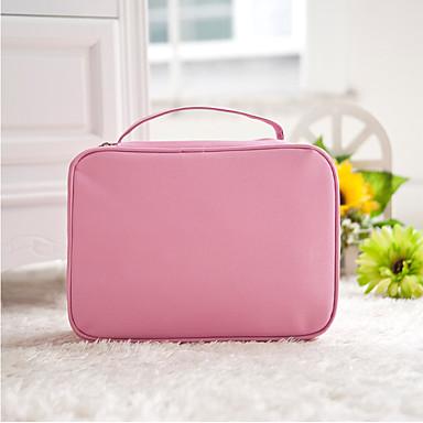 حقيبة أدوات تجميل للسفر حقيبة مستحضرات التجميل منظم أغراض السفر مقاوم للماء المحمول تخزين السفر إلى ملابس أكسفورد نايلون / السفر