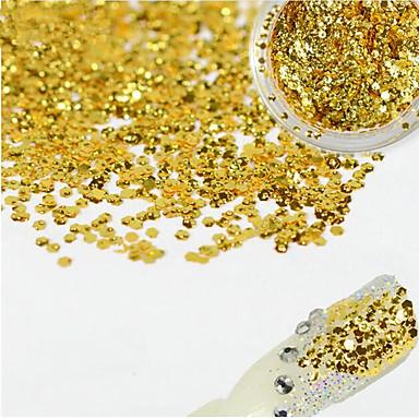 1 bottle Kynsien korut / Glitter & Poudre / Muut koristeet kiiltää / Muoti / päilyvä Lovely Päivittäin