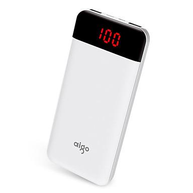 Τράπεζα ισχύς εξωτερική μπαταρία 5V 1.0A 2.1A #A Φορτιστής μπαταρίας με καλώδιο Πολλαπλοί έξοδοι LCD