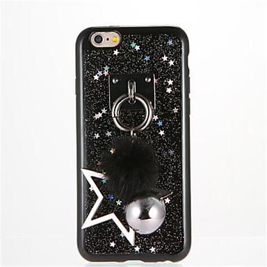 Pentru Reparații Maska Carcasă Spate Maska Shine Glitter Moale TPU pentru AppleiPhone 7 Plus iPhone 7 iPhone 6s Plus iPhone 6 Plus iPhone